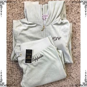 """Juicy Couture Custom Made Outfit """"Coppola"""" M/L"""